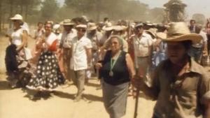 Pyhiinvaeltajia matkalla Rocioon
