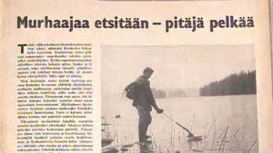 Sanomalehtikirjoitus vuonna 1953