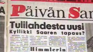 Päivän Sanan uutisointia Tulilahdesta vuonna 1959