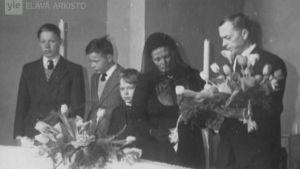Hautajaiskuva vuonna 1963