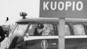 Poliisiauto Kuopiossa