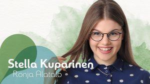 Stella Kuparinen (näyttelijä Ronja Alatalo) hahmon esittely Uuden Päivän nettisivuilla