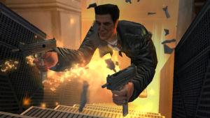 Kuvakaappaus Max Payne -tietokonepelistä