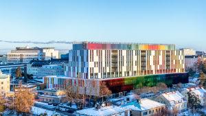 Bild på hur HNS nya barnsjukhus ska se ut.