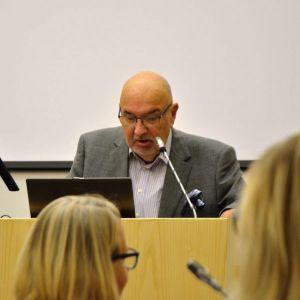Lars-Erik Gästgivars (SFP), styrelseordförande i Korsholm.
