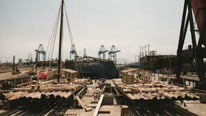 Sima:n telakka-alue kontiki2 projektissa
