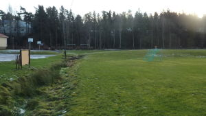 Amosparken, nya dagisbygget