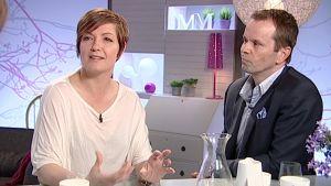 Maria Sundblom-Lindberg och Niklas Nordling