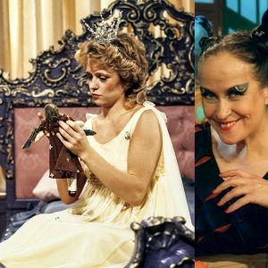 Sinikka Sokka kertoo Grimmin satuja, Susanna Haavisto prinsessa Ruususen roolissa