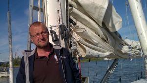 Stefan Abrahamsson från Segelfartygsstiftelsen