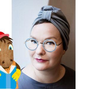 Författaren Sanna Tahnavainen.