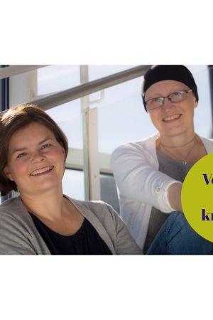 Svenska Yles filmredaktörer Silja Sahlgren-Fodstad och Johanna Grönqvist.