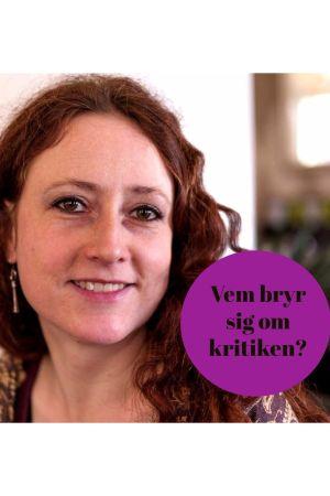 Kritikern Tatjana Brandt.