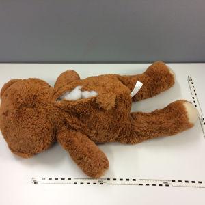 Tullens bild av ett kramdjur som är fyllt med droger.