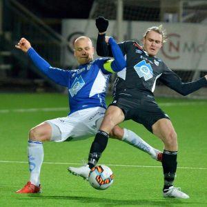 Jesper Törnqvist spelade mycket i försvaret.