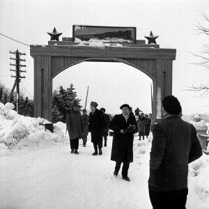 Porkala återlämnas till Finland, 1956