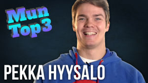 Pekka Hyysalon Mun top 3