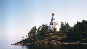 Valamokloster i Ladoga.