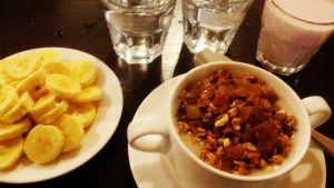 Brottaren Petra Ollis viktminskningsfrukost