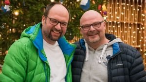 kapellmästare Toivo Rolser och körledare Jan Jansson.