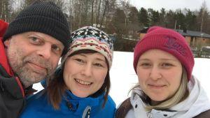 Magnus Ljungqvist, Tanja Ljungqvist, och Kata