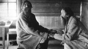 Bröderna Jamanen i Uhtua i Karelen sjunger traditionell runosång år 1849.