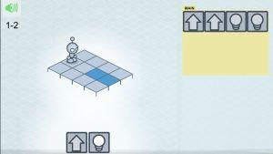 Kuva pelistä Lightbot Jr.