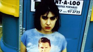 Punk-laulaja Kathleen Hanna.