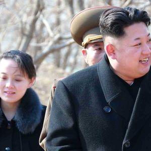 Kim Jong Un upphöjde i fjol sin syster till det styrande Arbetarpartiets politbyrå. Hon tros arbeta bland annat med PR-frågor inom partiet