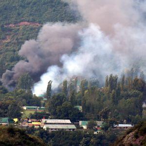 Attack i Srinagar.