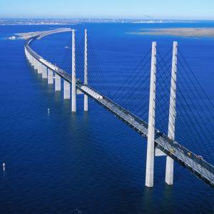 Juutinrauman silta rakenteilla