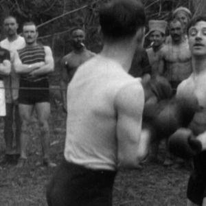 Ensimmäisen maailmansodan aikana etulinjan takana sotilaat harrastivat erilaisia urheilulajeja.