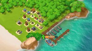 Boom Beach-spelet.