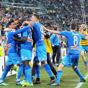 Napoli firar.