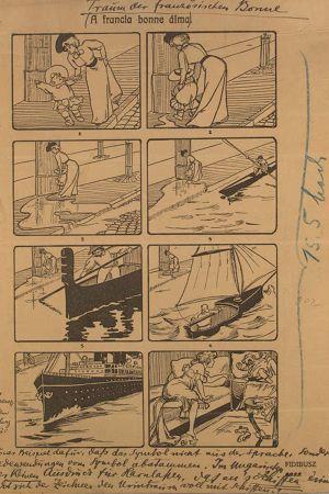 En illustration ur boken Drömtydning av Sigmund Freud.
