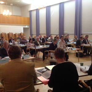 Raseborgs fullmäktige samalde för att diskutera Raseborg 2020.