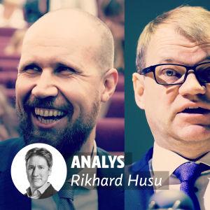 Touko Aalto, Juha Sipilä och Jussi Halla-aho