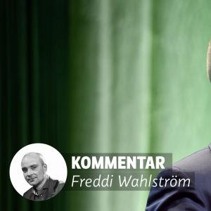 Freddi Wahlströms av de Grönas partikongress.