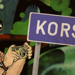 Kaasunaamarimies saapuu Korsoon, innokkaana valokuvaamaan karmeuksia.