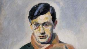Tristan Tzara (Målning av Robert Delaunay, 1923)