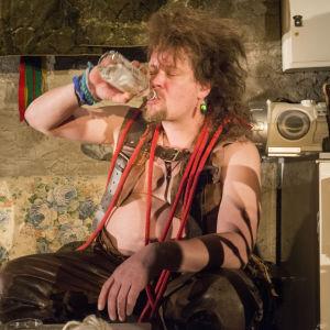 Ville Haapasalo näyttelee hevosta nimeltä MyDream Diablo