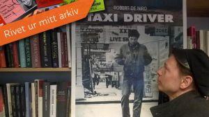 Tomas Jansson och Taxi Driver affischen från 1976.
