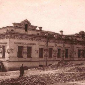Ipatjevhuset i Jekaterinburg (Sverdlovsk) där tsarfamiljen mördades 1918.