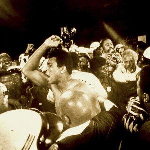 Muhammad Ali. Kuva William Kleinin dokumenttielokuvasta Muhammad Ali, suurin ja kaunein.