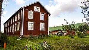Privat bondgård i Östermark som beviljats bidrag för renovering.
