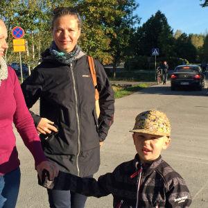 kajsa Winqvist, Christina Nyström, Winellska skolan