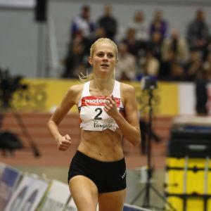 Karin Storbacka, inomhus-FM 2017.