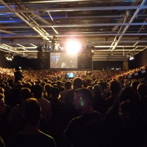 Dreamhack 2014 Counter-Strike-turnauksen katsojia
