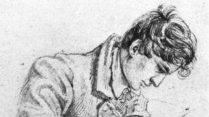 Wilhelm Grimm 1814.