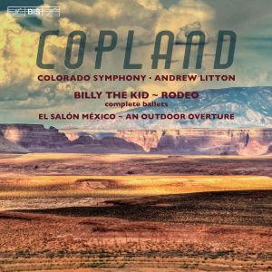Coloradon sinfoniaorkesterin levyn kansikuva.